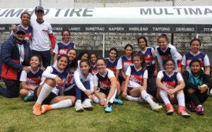 Intercolegial de futbol Categoría Femenina